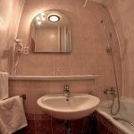 Hotel ozón kúpelňa v izbe Štandard