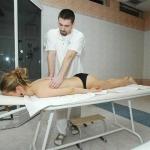 Balneoterapia klasická masáž