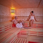 Wellness spa fínska sauna