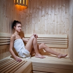 Wellness spa infra sauna