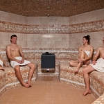 Wellness spa inhalačná sauna