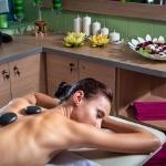 Wellness spa masáž lávovými kameňmi