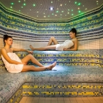 Wellness spa parná sauna 1