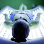 Wellness spa solárium